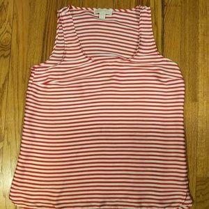 Michael Kors size large sleeveless blouse